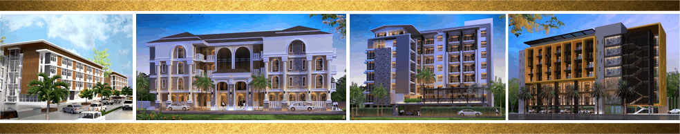 ออกแบบอพาร์ทเมนท์ 4 ชั้น ออกแบบอพาร์ทเมนท์ สร้างอพาร์ทเมนท์ เขียนแบบอพาร์ทเมนท์ ออกแบบอาคาร