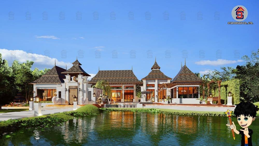 แบบบ้านบาหลี (2)