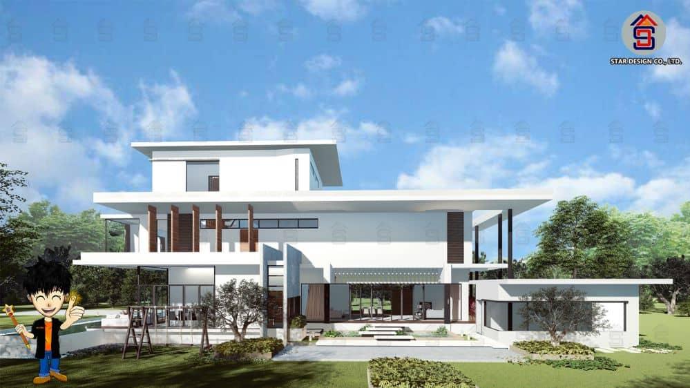 ออกแบบบ้านโมเดิร์น (2)