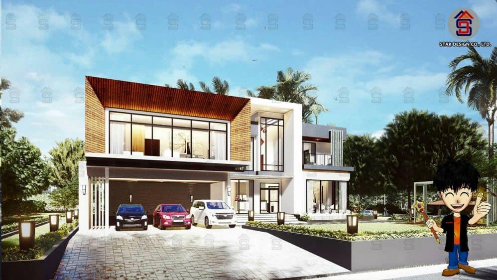 ออกแบบบ้านโมเดิร์น2 (1) ปก
