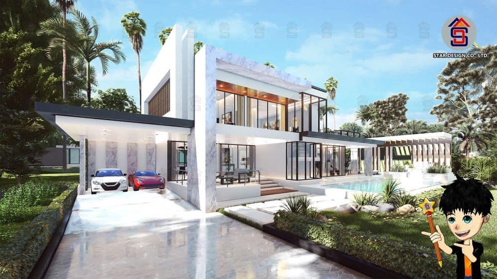 ออกแบบบ้านโมเดิร์น3 (1) ปก
