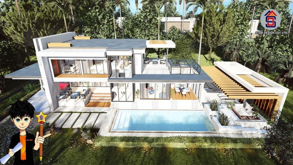 ออกแบบบ้านโมเดิร์น3 (2)
